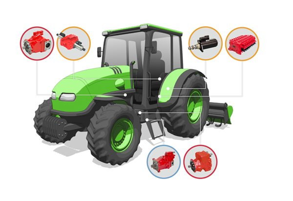 tractors labelled diagram