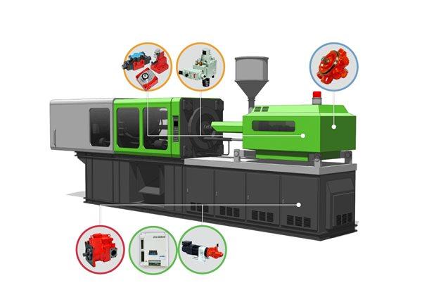 plastic machinery die casting