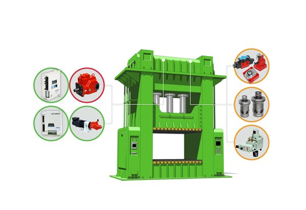 press machines diagram